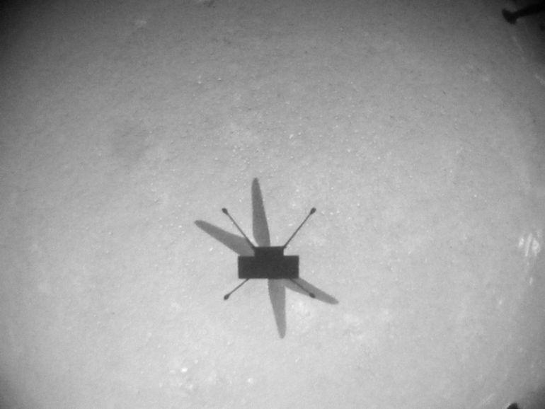 Et de huit ! L'hélicoptère Ingenuity a réussi un nouveau vol sur Mars