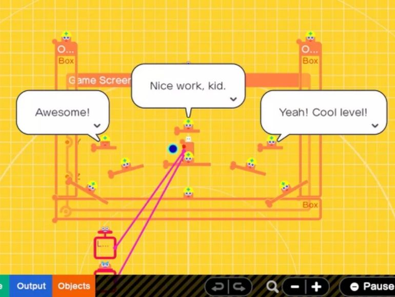 Prise en main de Nintendo Game Builder Garage, l'outil qui initie les enfants à la création de jeux vidéo