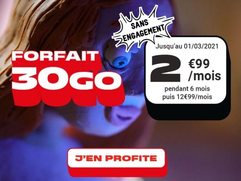 NRJ Mobile : forfait 30 Go pour moins de 3 euros, que vaut la promo du MVNO ?