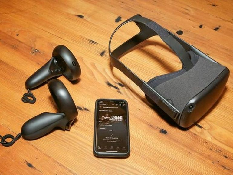 L'Oculus Quest va s'ouvrir aux notifications (SMS, mail) pour l'iPhone