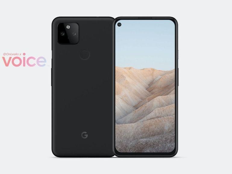 Le Google Pixel 5a a peut-être fait l'objet d'une fuite