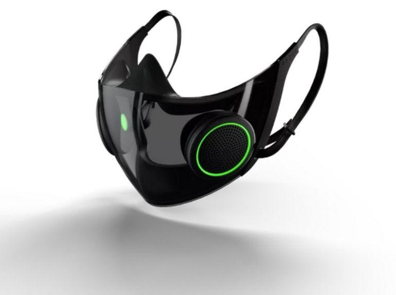 Razer va finalement commercialiser son masque FFP2 high-tech