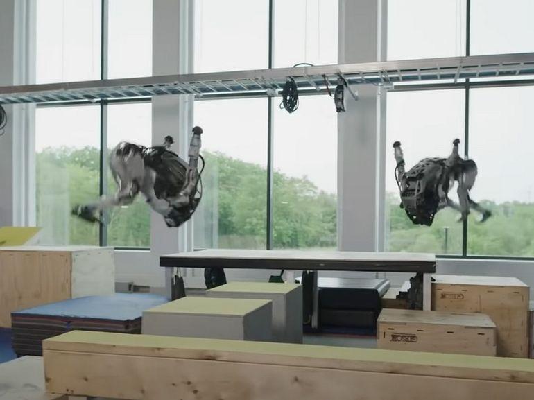 Ces robots Atlas de Boston Dynamics sont bluffants d'agilité
