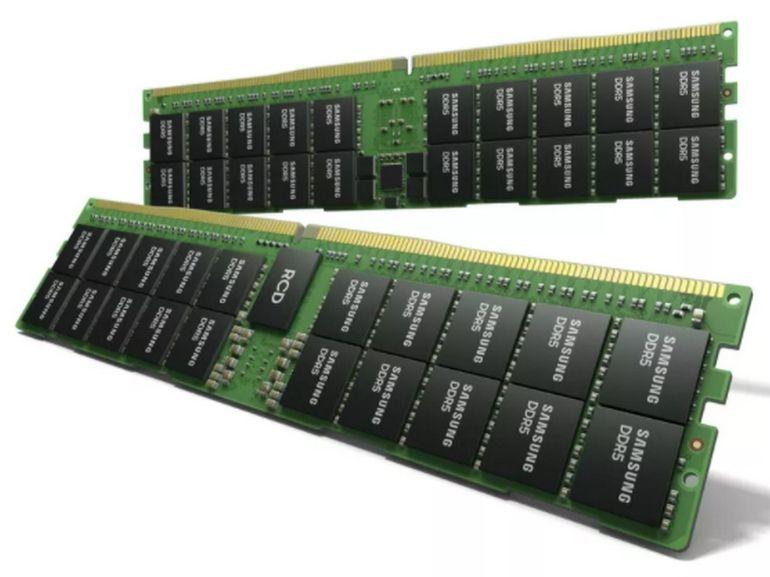 Samsung dévoile une barrette mémoire de 512 Go DDR5