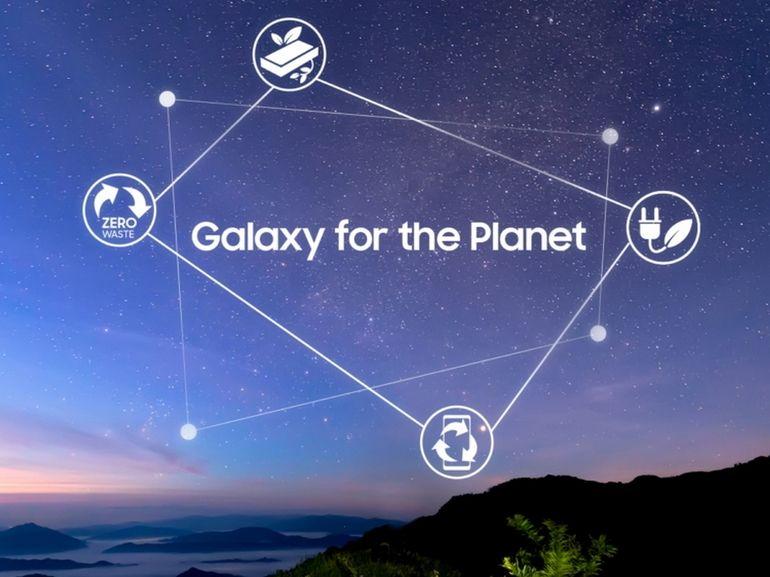 Développement durable : Samsung veut généraliser les matériaux recyclés dans ses appareils d'ici 2025