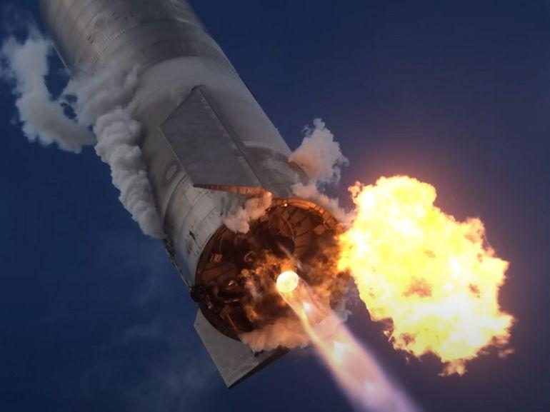 SpaceX publie une vidéo inédite du vol de son Starship SN10