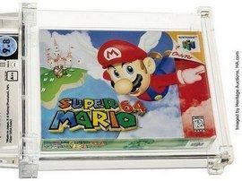 1,5 million de dollars : une copie de Super Mario 64 atteint un prix record aux enchères