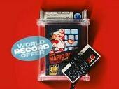 Nouveau record pour un jeu Super Mario de 1985 vendu 2 millions de dollars