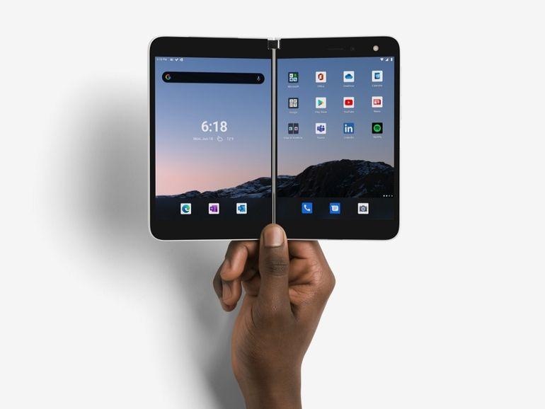 Microsoft Surface Duo : le smartphone à deux écrans sera disponible en France le 18 février