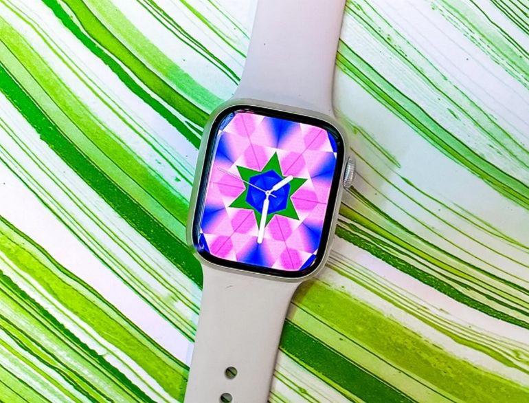 Test de l'Apple Watch Series 7 : un écran plus grand et… c'est presque tout
