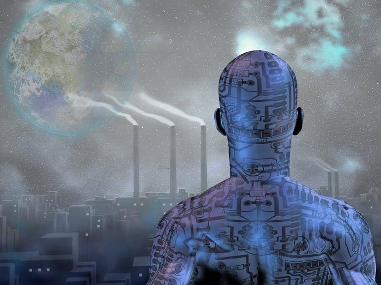 Collapsologues VS transhumanistes : entre l'effondrement et l'homme augmenté, les dangers d'un futur mythifié