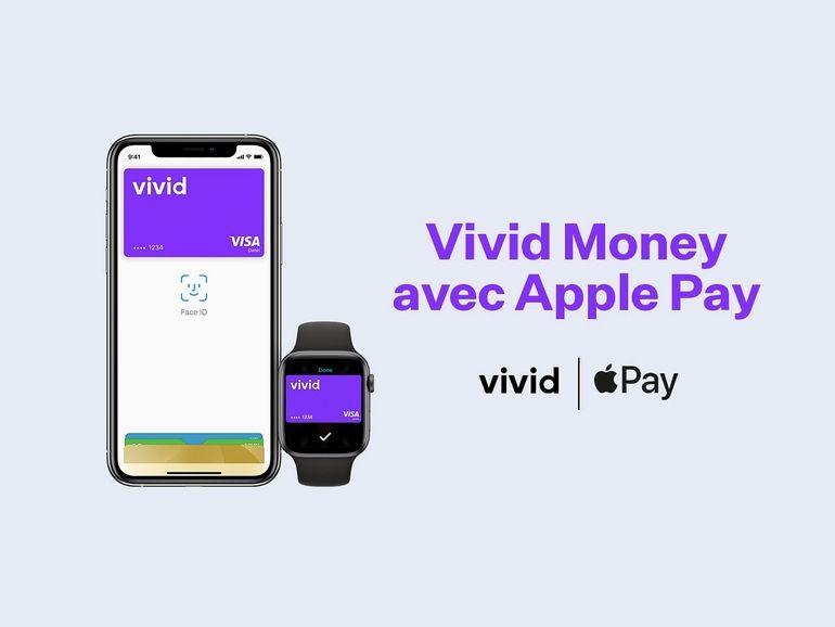 Vivid Money, la néobanque allemande est désormais compatible avec Apple Pay