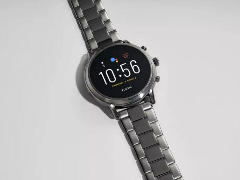 Fossil lancera une montre Google Wear OS haut de gamme cet automne