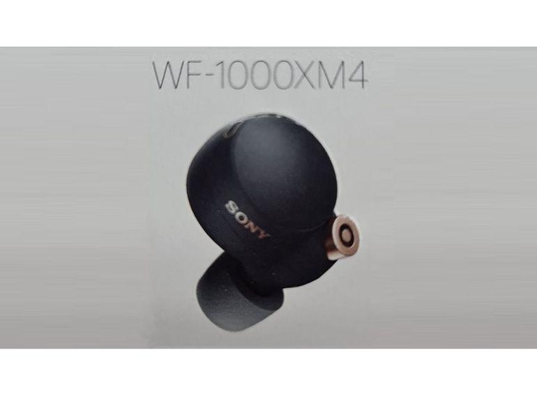 Les Sony WF-1000XM4 seraient les premiers écouteurs True Wireless Hi-Res