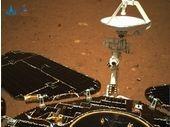 Voici les première images de Zhurong, le rover chinois qui vient d'arriver sur Mars