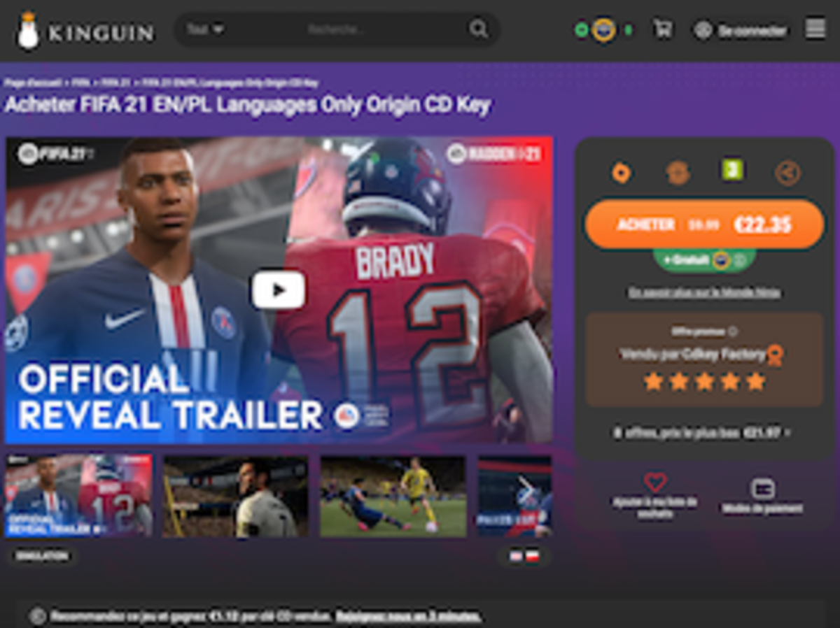 Instant Gaming, G2A, Kinguin, Gamivo :du gaming low cost au trafic de clés
