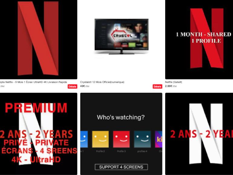 Netflix et Spotify pas cher ou en sous-location : la SVOD et le streaming ont aussi leur marché gris