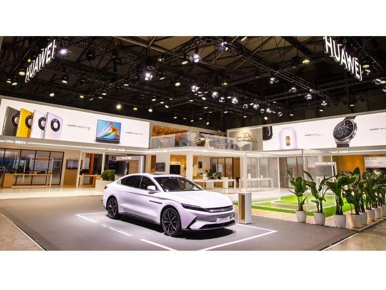 Huawei met en scène son écosystème connecté au MWC de Shanghai