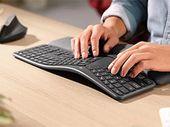 Logitech Ergo K860 : test du clavier ergonomique qui peut vous réconcilier avec la saisie de texte