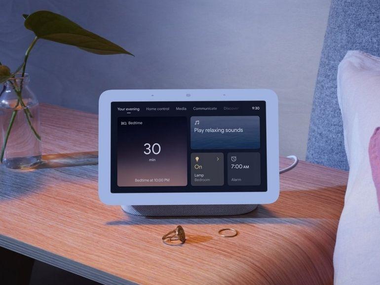 Le nouveau Google Nest Hub analyse votre sommeil à distance