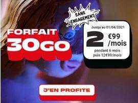 Forfait mobile : la promo 30 Go à 3 euros est de retour chez NRJ
