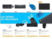 Amazon : les prix fous des souris et claviers Logitech pendant les ventes flash du printemps