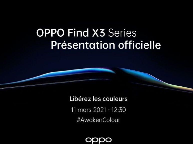 Oppo Find X3 : comment suivre l'annonce et à quoi s'attendre ?