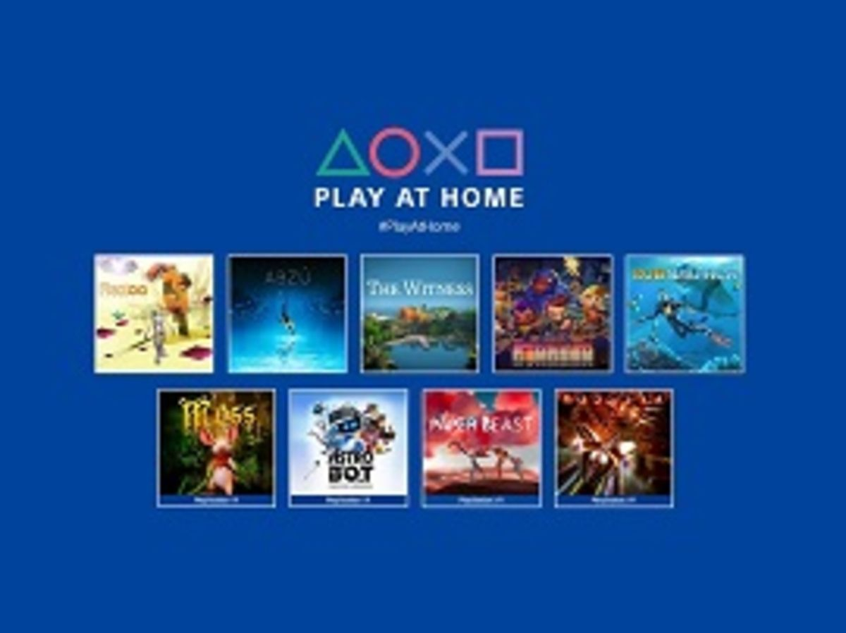 Sony Play at Home : 10 jeux gratuits en avril, dont Horizon Zero Dawn