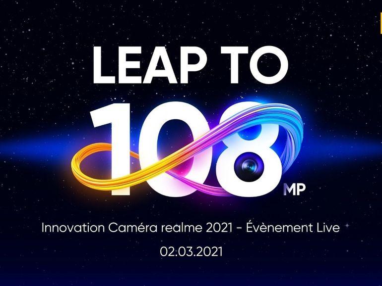 Realme 8 : la firme fait un point sur le capteur photo de 108 megapixels qui équipera le Pro