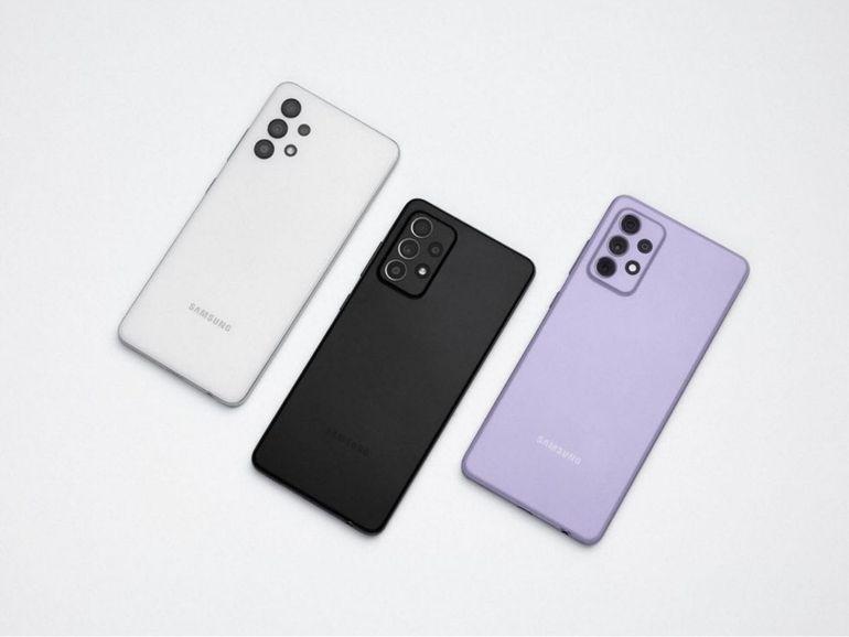 Galaxy A52 vs A52 5G vs A72 : le match des fiches techniques