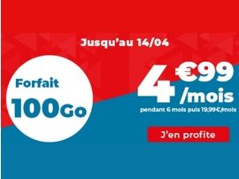Forfait mobile : que vaut l'offre 100 Go à 5€ d'Auchan Télécom ?