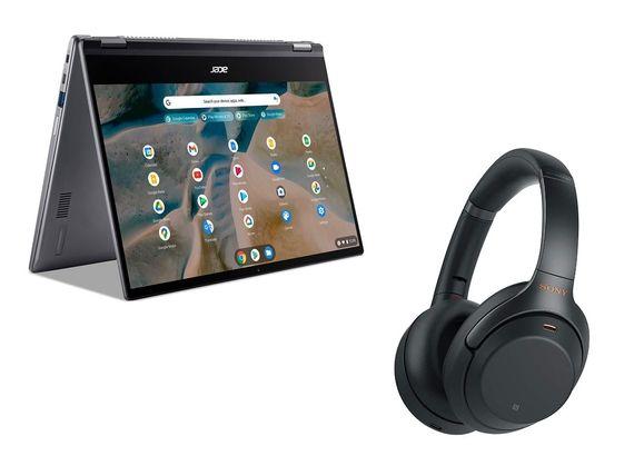 Achetez un Chromebook Acer (Ryzen 5) et repartez avec un casque Sony WH-1000XM3