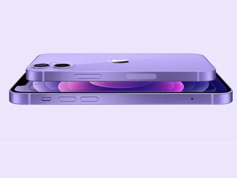 L'iPhone 12 et 12 Mini d'Apple sont déclinés en violet