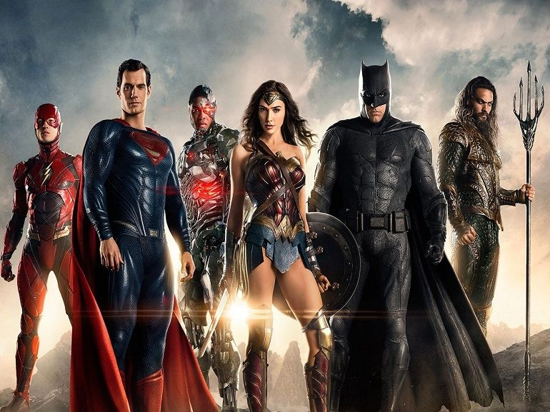 On TV tonight, is Justice League (DC Comics) the movie to watch?