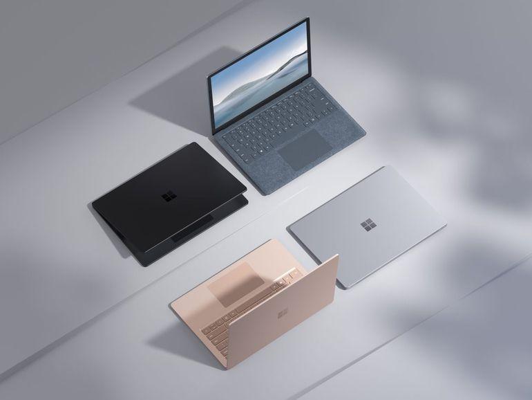 Nouveau Microsoft Surface Laptop 4 : du style et des déclinaisons Intel et AMD