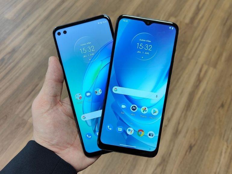 Prise en main des Motorola Moto G50 et Moto G100 : nouvelle identité pour une nouvelle vie ?