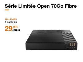Orange : l'abonnement fibre et le forfait 4G (70 Go) à 29,99€ par mois