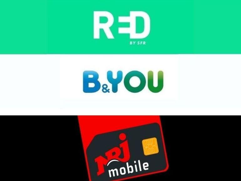 Bon plan forfait : 200 Go chez NRJ Mobile ou 160 Go chez RED SFR / B&You ?