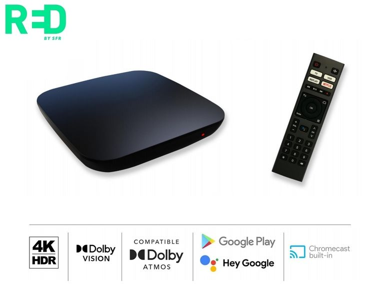 RED by SFR : un nouveau décodeur 4K HDR accompagne l'offre ADSL et Fibre