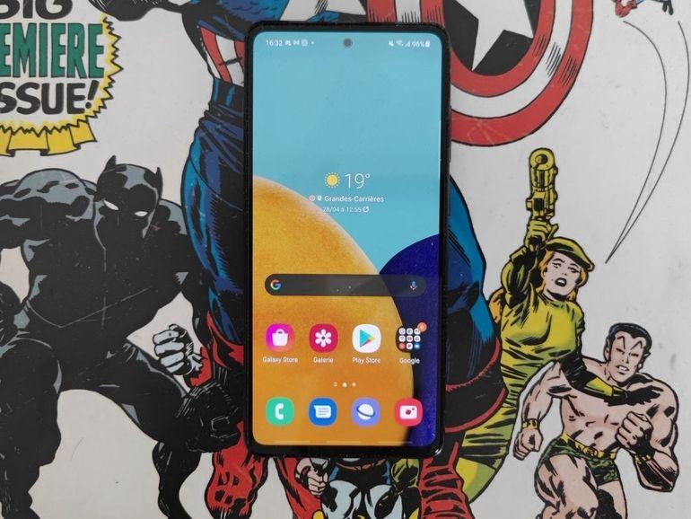 Test du Samsung Galaxy A52 5G : de jolis progrès dans plusieurs domaines