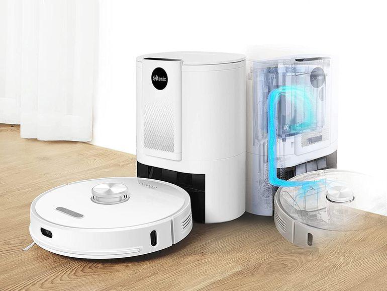 Un robot aspirateur avec station de vidange à 379€ (-220€)