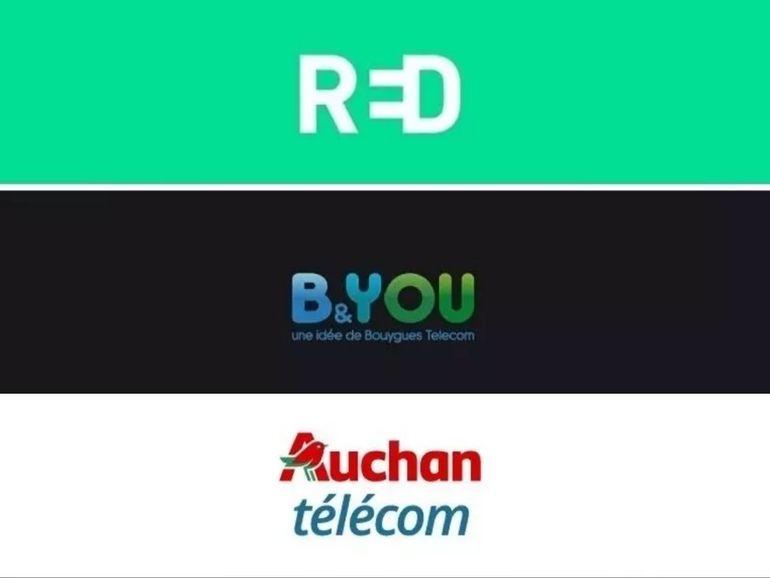 Forfait 100 Go à partir de 5 euros : RED, B&You ou Auchan Telecom, quelle promo choisir ?