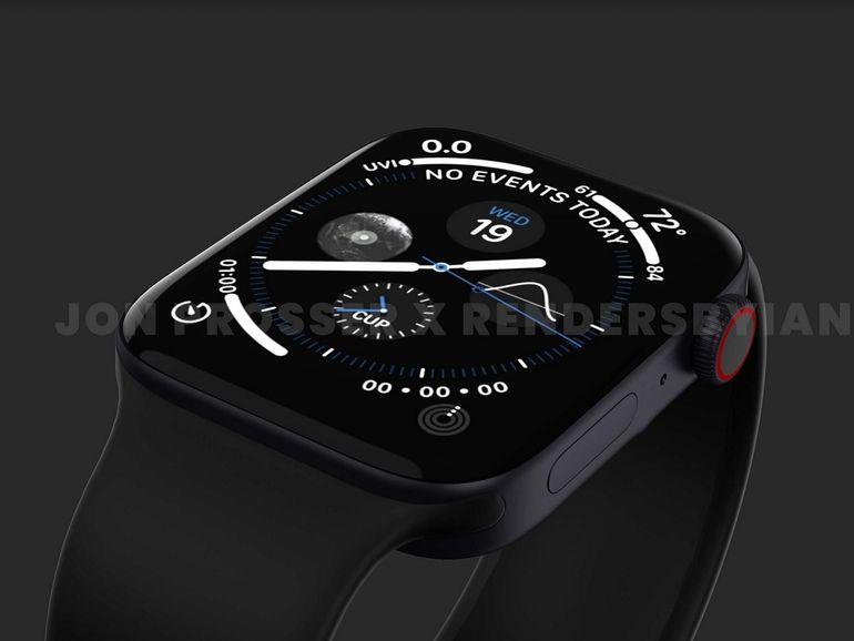 Apple Watch Series 7 : et si le design se rapprochait de celui de l'iPhone 12 ?