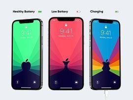 Des fonds d'écran dynamiques pour connaitre l'autonomie de votre iPhone