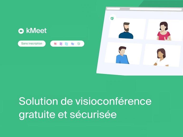 kMeet : l'alternative gratuite et illimitée à Microsoft Teams et Zoom