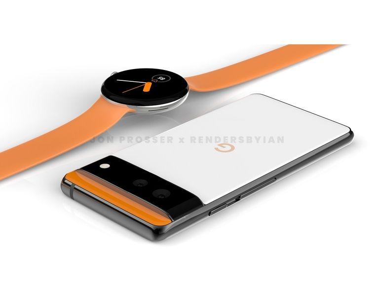 Pixel et Watch : le design des prochains appareils Google confirmé par un rendu 3D ?