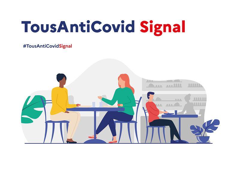 TousAntiCovid Signal : le gouvernement présente son cahier de rappel numérique