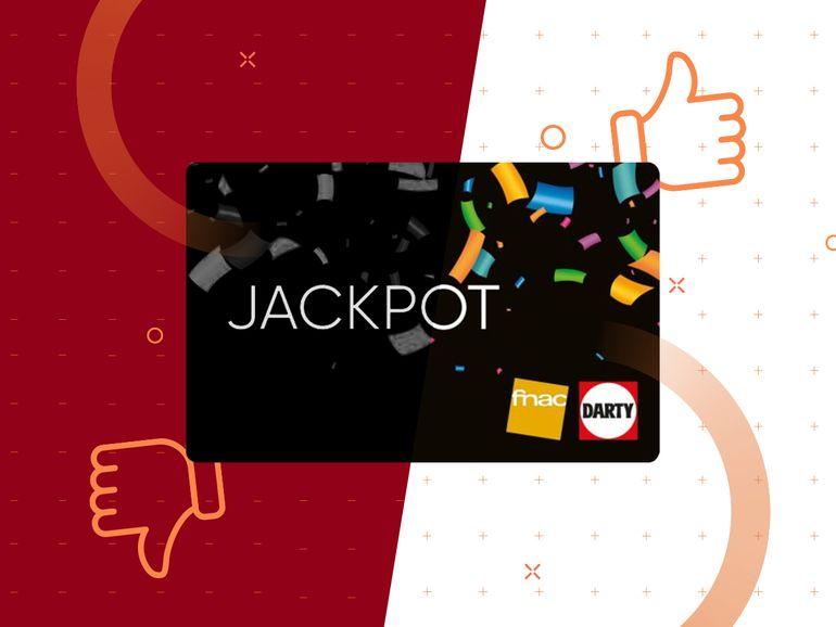 Les cartes cadeaux Jackpot Fnac / Darty sont de retour pour les French Days