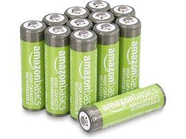Piles rechargeables LR6 (AA) pas chères sur Amazon, ça vaut le coup ?