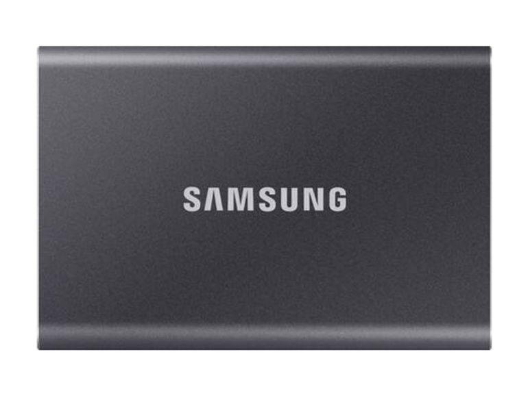 Soldes : SSD Samsung T7 Touch 500 Go à moins de 100€